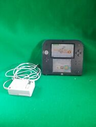 Nintendo 2DS  4GB Blue & Black Handheld System and charger tested and works  $45.00