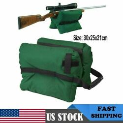 Tactical Shooting Gun Rest Unfilled Front Sand Bags Shooter#x27;s Rifle Bench Steady $19.99