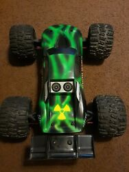 Traxxas E Revo with upgrades rc brushless castle creations $525.00