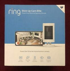 Ring Stick Up Cam Elite Power over Ethernet HD Security Camera w Two Way Talk $183.95