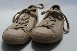 Converse All Star Kids Size 13 Solid Beige Shoes $20.00