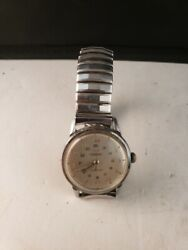 WALTHAM Wristwatch Mechanical Mov#x27;t Vintage Parts or Repairs $29.99