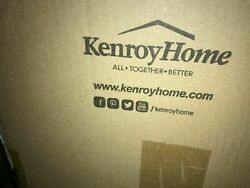 Kenroy Home Thornton 73 in. Bronze Torchiere with Amber Glass Shade 32976WBZ $141.95