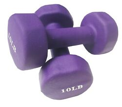 Dumbbells 10 lbs Set of two $24.99