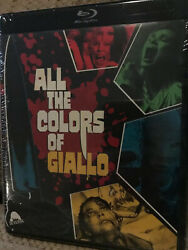 All the Colors of Giallo 2019 Blu ray 3 Disc Collection $23.99
