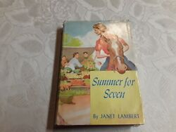 1952 First Edition quot; SUMMER FOR SEVEN quot; $14.00