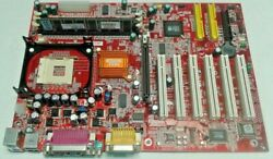 MSI Motherboard 645E Max U MS 6547 VER: 2.1 Socket 478 DDR1 AGP 6x PCI Retro $60.00