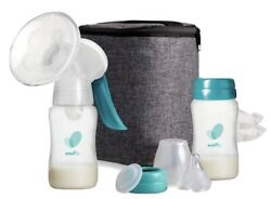 Evenflo Deluxe Advanced Manual Breast Pump For Occasional Pumping Portable $39.99