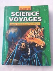 Glencoe Science Voyages Level Green Student Text Book Curriculum Middle School $15.99