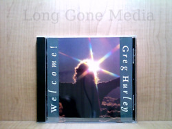 Welcome by Greg Hurley CD Autographed 1988 Heartart $18.95