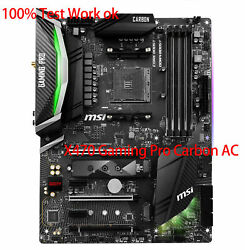 100% Tested FOR MSI X470 GAMING PRO CARBON AC AM4 AMD Gaming Motherboard C $461.70