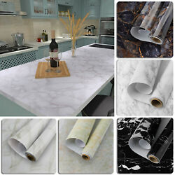 Marble Contact Paper Self Adhesive Peel amp; Stick Wallpaper PVC Decor Countertop $11.95