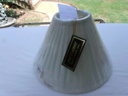 ANTHONY CALIFORNIA WHITE TABLE OR FLOOR LAMP SHADES $19.00