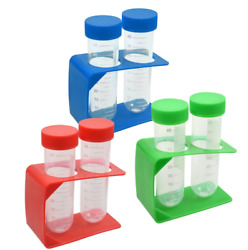 Teaching Tree Kids Plastic Test Tubes with Holder Science Home School Choice $5.99