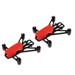 2x Carbon Fiber Q100 RC Quadcopter DIY Frame Kit for Mini Drone Supporter $9.91