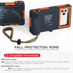 15M Diving Underwater Protect Waterproof Phone Case For iPhone11 Pro Max Samsung $31.00