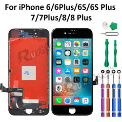 For iPhone 8 7 6 6S Plus LCD Touch Display Screen Digitizer Replacement Tools $21.95