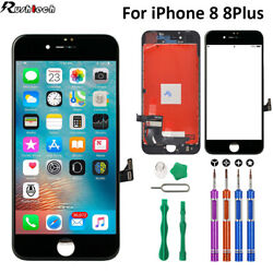 iPhone 8 8 Plus LCD Touch Display Screen Digitizer Replacement OEM9 In 1 Tools $20.95