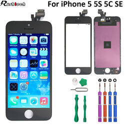 iPhone 5 5S 5C SE LCD Touch Display Screen Digitizer Replacement9In1 Tools $19.45