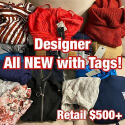 All NEW Women's Designer Clothing Reseller Lot High End And Popular Brands