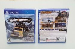 SnowRunner Standard Edition PlayStation 4 2020 PS4 NEW $45.90