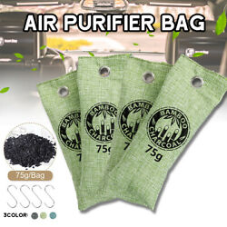 12X 750g Air Purifying Bag Nature Fresh Style Charcoal Bamboo Purifier Mold Odor $16.55