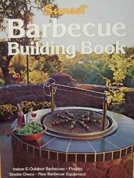 Barbecue Building Book Sunset gardening amp; outdoor building books GOOD