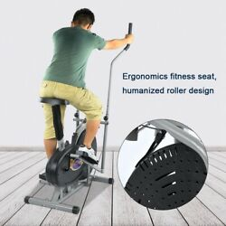 Indoor Elliptical Machine Cross Trainer Exercise Bike Cardio Fitness Equipment $137.99