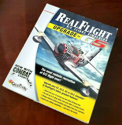 Real Flight R C RC Flight Simulator G5 DVD 2 Disc PC Box Great Planes Software $34.99
