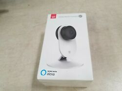YI 1080p Home Camera Indoor Night Vision White $15.00