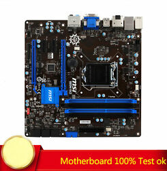 FOR MSI B85M G43 Motherboard 1150 Pin DDR3 Solid State Display 100% Test Work $112.79