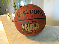 NBA Indoor Outdoor All Surface Spalding Ball $16.76
