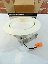 Commercial Service 65W LED 4inch Downlight slopped 3000K white Bathroom #50830