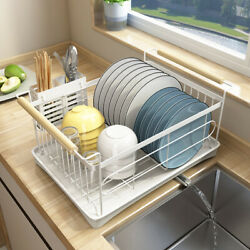 Modern Stainless Steel Kitchen Shelf Dish Drying Rack Storage Rack Tableware New $27.26