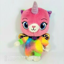 Felicity Rainbow Butterfly Unicorn Kitty Plush 8quot; Nickelodeon 2018 Stuffed Toy $14.45