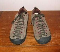 Keen Oxford Brown Leather Shoe Lace Up Hiking Women's 8.5M Trail $25.00