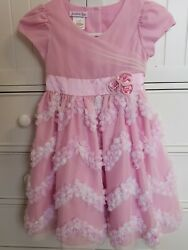 Pink Tulle Party Formal Dress Size 6 $9.80