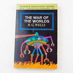 THE WAR OF THE WORLDS by H. G. Wells 1964 Reader#x27;s Enrichment Paperback Ed. $5.99