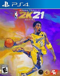 NBA 2K21 MAMBA FOREVER EDITION PLAYSTATION 4 BRAND NEW PS4 $93.00