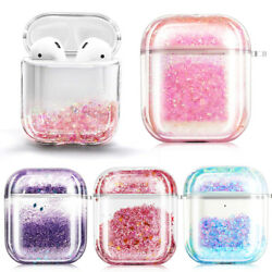 For Apple AirPods 1st amp; 2nd Gen AirPods Pro Case Cute Liquid Glitter Cover $5.99