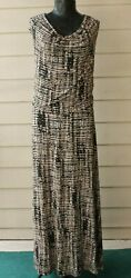 CALVIN KLEIN Sleeveless Maxi Dress Size 1X $15.99