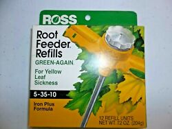 Ross Root Feeder Refills Fertilizer Fruit and Shade Iron 5 35 10 Pack of 12 $18.99