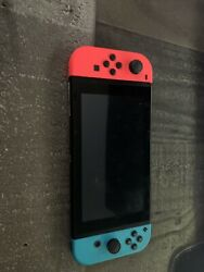 Nintendo Switch 32GB Neon Red Neon Blue Console $275.00