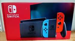 Nintendo Switch With Neon Joy‑Con Newest Model Brand New $359.49