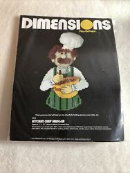 Plastic Canvas Kitchen Chef Hanger Kit By Dimensions $6.00