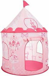 Princess Castle Play House Kids Portable Play Tent Indoor Outdoor BabyGift Pink $19.99