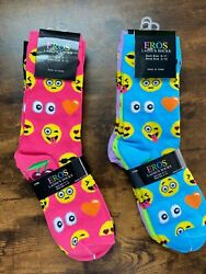 Novelty Women#x27;s Socks EMOJI $20.00