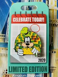 Disney Parks 2020 Goofy Celebrate Today National Taco Day LE 4000 Pin $24.95
