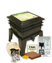 The Worm Factory® Basic Vermiculture Worm Composting Bin by Nature#x27;s Footprint $95.99