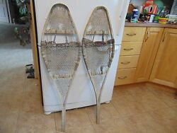 antique snowshoes nice 12 x 42 not perfect # 1824 $44.99